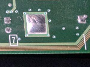 Xbox trace closeup