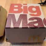 EVV Big Mac box
