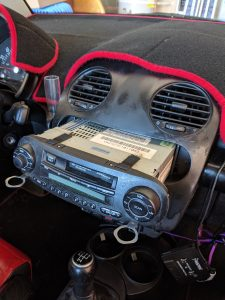 Old dash removing radio